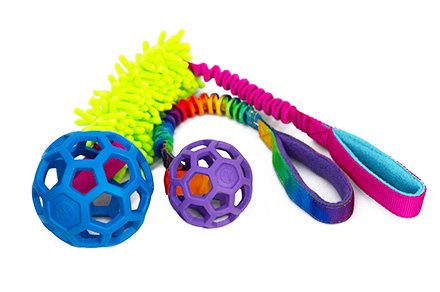 Dogs craft Hol-ee ball mop durable dog toy